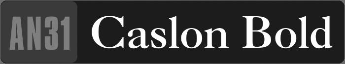 AN31-Caslon-Bold