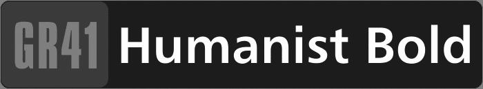 GR41-Humanist-Bold