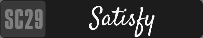 SC29-Satisfy