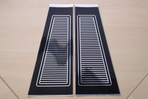 GT-150 Ventilation Decals Set